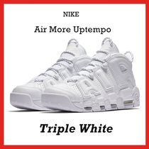 Nike Air More Uptempo Triple White 2017 SS 17