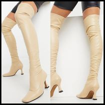 ASOS Keisha premium over the knee boots with interest heel