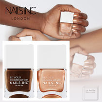 【Nails Inc】限定〇Coco For Real〇グロシーマニュキア2点