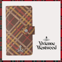 国内発【Vivienne Westwood】iPhone XR DERBY FLAP スマホケース