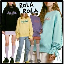 送料・関税込★Rolarola★LITTLE GIRLS KNIT PULLOVE.R★ニット