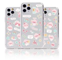 KAKAO FRIENDS☆韓国☆Lovely Day Pattern クリアiPhoneケース