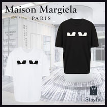 【新作】20AW「Maison Margiela」Spliced MMロゴ Tシャツ