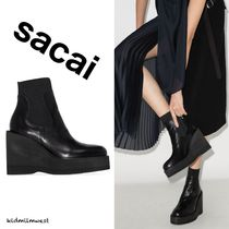 Wedge Ankle Boots☆高いヒールでも履き心地は快適・・♪