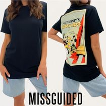 Missguided☆Mickey & Minnie 大きめ Tシャツ