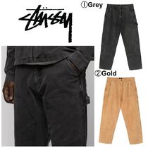 【STUSSY】☆最新作☆WASHED CANVAS WORK PANT