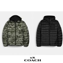 新色☆関税込 coach Packable Hooded Down Jacket