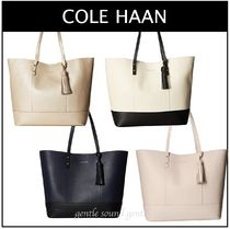 ◇◇COLE HAAN◇◇ Bayleen レザートートバッグ ポーチ付き★