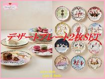 Twelve Days of Christmas Menagerie Dessert Plate 2枚SET