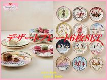 Twelve Days of Christmas Menagerie Dessert Plate 6枚SET