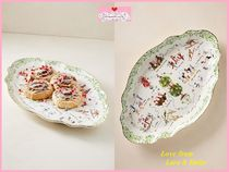 Inslee Fariss Twelve Days of Christmas Menagerie Platter