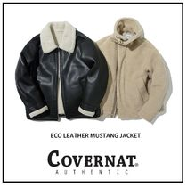[COVERANT] ★NEW!!★ Eco Leather Mustang Jacket