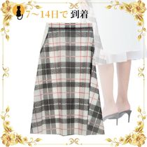 《海外発送》BURBERRY 3/4 length skirt