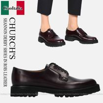 Church's(チャーチ) ローファー・オックスフォード CHURCH'S  SHANNON DERBY SHOES IN ROIS LEATHER