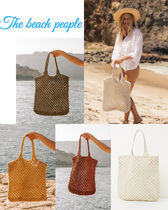 The Beach People(ビーチピープル) トートバッグ ☆★The Beach People Macrame Tote Bag★☆