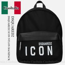 DSQUARED2 ICON NYLON BACKPACK