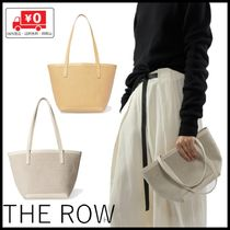 The Row(ザ・ロウ) トートバッグ 【国内発送】The Row Mini Park Tote キャンパス レザー トート