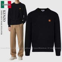 KENZO TIGER CREST WOOL PULLOVER
