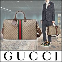 GUCCI▼GGロゴ 旅行にも最適 ミディアム キャリーオン バッグ