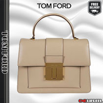 TOM FORD☆SHINY GRAINED  001 MEDIUM レザートートバッグ
