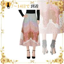 《海外発送》VALENTINO 3/4 length skirt