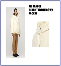 [JIL SANDER] PEACHY NYLON DOWN JACKET (送料関税込み)