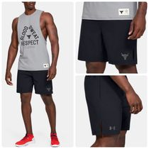 【UNDER ARMOUR】Project Rock コラボ ロゴハーフパンツ★限定★