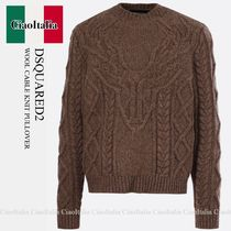 DSQUARED2 Wool Canadian Knit Sweater