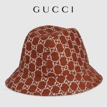 ★GUCCI★GGラメ バケット*ハット*Brown 日本未発売