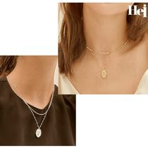 [Hei] elizabeth pendant layered necklace ネックレス
