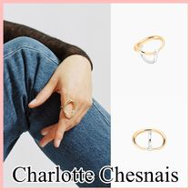 Charlotte Chesnais Turtle Ring リング Gold&Silver 送料込み