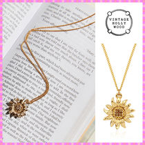 【VINTAGE HOLLYWOOD】Vintage Sunflower Necklace〜ネックレス