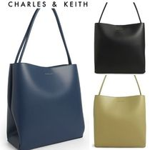 【Charles&Keith】A4収納可 トートバッグ *送料込
