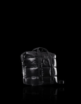 MONCLER トートバッグ MONCLER★20/21秋冬MARNE largeバッグ【黒】(2)