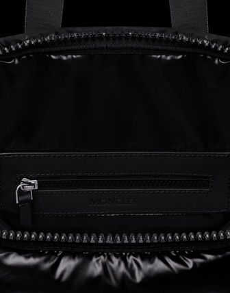 MONCLER トートバッグ MONCLER★20/21秋冬MARNE largeバッグ【黒】(4)