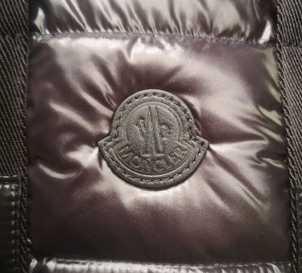 MONCLER トートバッグ MONCLER★20/21秋冬MARNE largeバッグ【黒】(5)