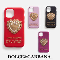 【DOLCE&GABBANA】Rubber devotion iphone 11 pro cover