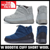 【THE NORTH FACE】W BOOOTIE CUFF SHORT WOOL