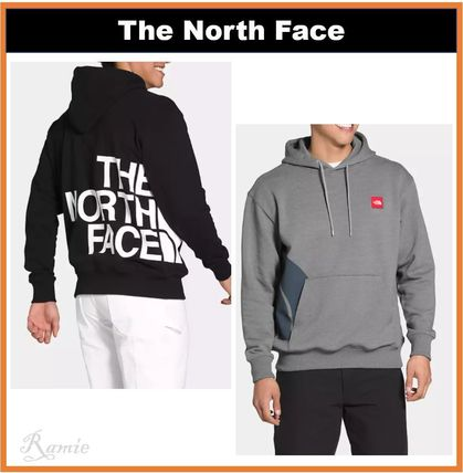 【THE NORTH FACE】FAR SIDE◆ビッグロゴ入りフーディー