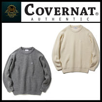 [COVERNAT]heavy gauge knit crewneck☆超人気☆日本未入荷