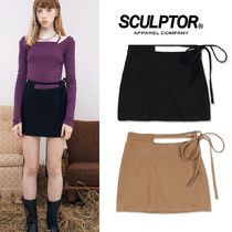 日本未入荷★SCULPTOR★ Waist Cut Out Wool Skirt 2色