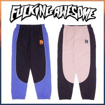 Fucking Awesome Two Tone Warm Up Pant ナイロンパンツ ピステ