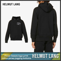 [Helmut Lang] Finest Sweats logo-print bottoms 送料関税込