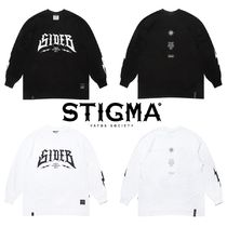 ★STIGMA★SIDE B OVERSIZED LONG SLEEVES T-SHIRTS 2色