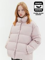 [ KIRSH ] OVERSIZED DOWN PADDING JA [CORAL PINK]