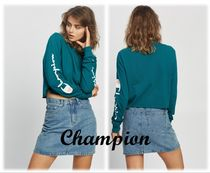 ★Champion★ BF Cropped LS Tee