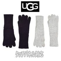 【UGG】スマホ対応 Full Knit Gloves with Tech Tips