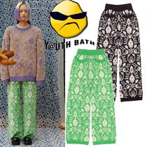 ★YOUTHBATH★PAISLEY KNIT PANTS_2色