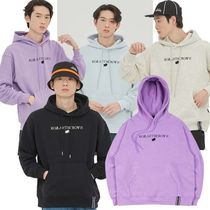 ROMANTIC CROWN★ RMTCRW LOGO HOODIE 4COLOR