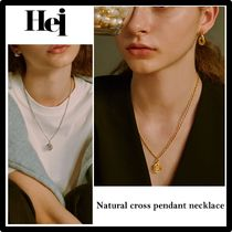 ★関税込・日本未入荷★Hei★natural cross pendant necklac.e★